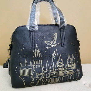 Harry Potter Loungefly Handbag Hogwarts Crossbody